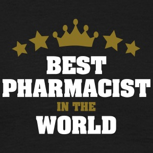 best pharmacist in the world stars crown - Men's T-Shirt