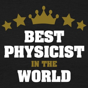 best physicist in the world stars crown - Men's T-Shirt