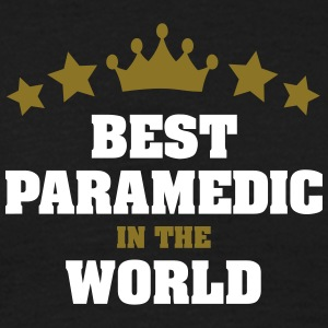 best paramedic in the world stars crown - Men's T-Shirt