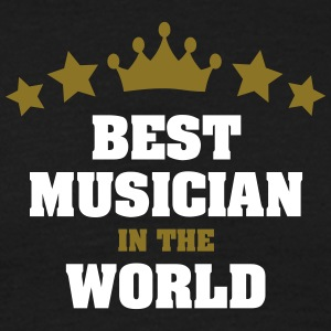 best musician in the world stars crown - Men's T-Shirt