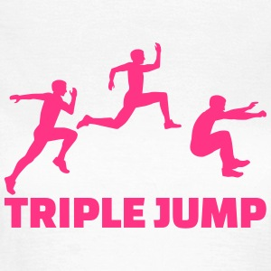 Triple Jump T-Shirts - Frauen T-Shirt