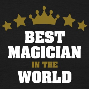 best magician in the world stars crown - Men's T-Shirt