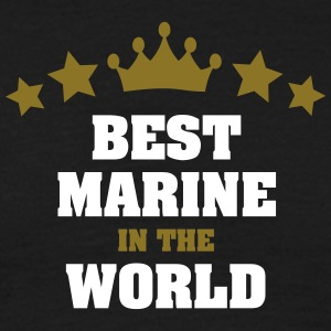 best marine in the world stars crown - Men's T-Shirt