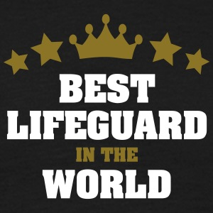 best lifeguard in the world stars crown - Men's T-Shirt