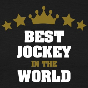 best jockey in the world stars crown - Men's T-Shirt