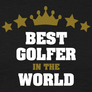 best golfer in the world stars crown - Men's T-Shirt