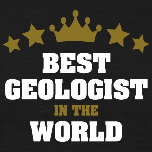 best geologist in the world stars crown - Men's T-Shirt