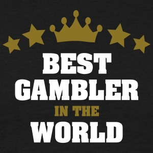 best gambler in the world stars crown - Men's T-Shirt
