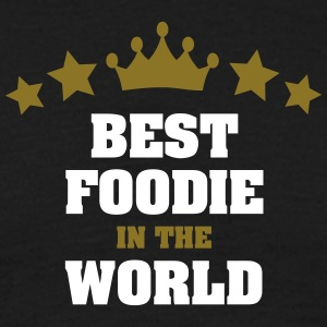 best foodie in the world stars crown - Men's T-Shirt