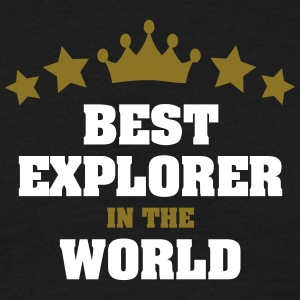 best explorer in the world stars crown - Men's T-Shirt