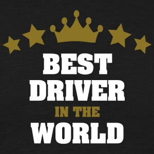 best driver in the world stars crown - Men's T-Shirt