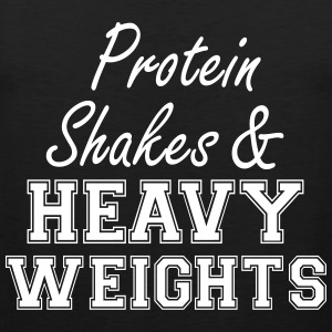 Protein Shakes And Heavy  Tank Tops - Männer Premium Tank Top