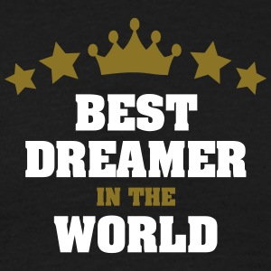 best dreamer in the world stars crown - Men's T-Shirt