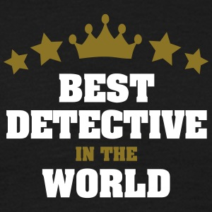 best detective in the world stars crown - Men's T-Shirt