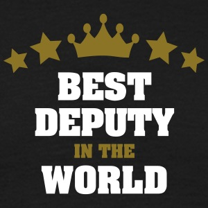 best deputy in the world stars crown - Men's T-Shirt