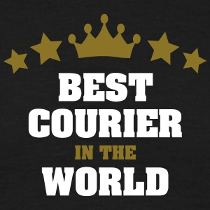 best courier in the world stars crown - Men's T-Shirt