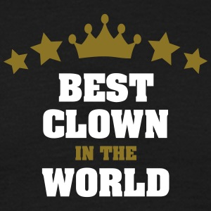 best clown in the world stars crown - Men's T-Shirt