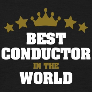 best conductor in the world stars crown - Men's T-Shirt