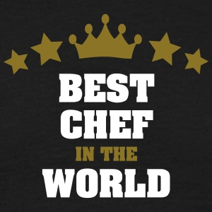 best chef in the world stars crown - Men's T-Shirt