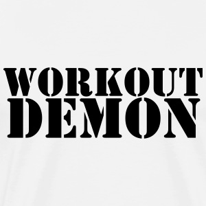 Workout Demon - Men's Premium T-Shirt