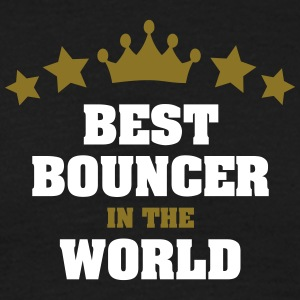 best bouncer in the world stars crown - Men's T-Shirt