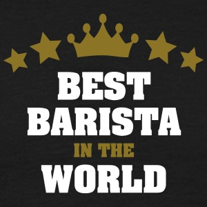 best barista in the world stars crown - Men's T-Shirt