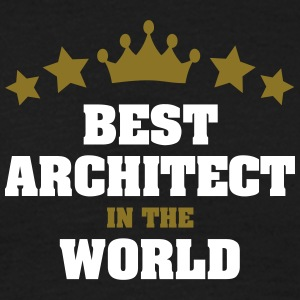 best architect in the world stars crown - Men's T-Shirt