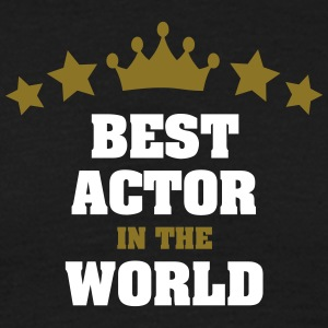 best actor in the world stars crown - Men's T-Shirt