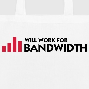 I work for bandwidth Bags & Backpacks - EarthPositive Tote Bag