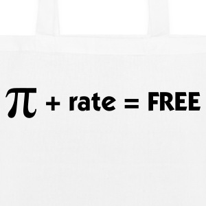 Pi rate = Free Bags & Backpacks - EarthPositive Tote Bag