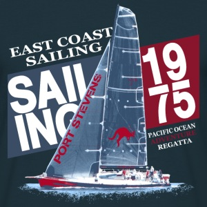 East Coast Sailing  T-shirts - Herre-T-shirt