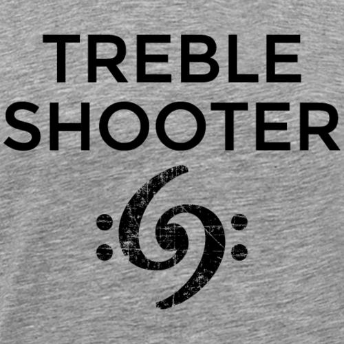 Treble Shooter Bass Design (Black)