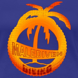 Malediven Diving T-Shirts - Frauen Premium T-Shirt