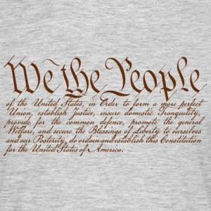 We the People T-Shirts - Männer T-Shirt