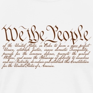 We the People Tee shirts - T-shirt Premium Homme