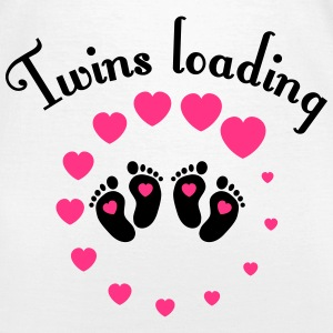 Twins loading T-Shirts - Frauen T-Shirt