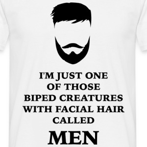 MEN BEARD 2 T-shirts - T-shirt herr