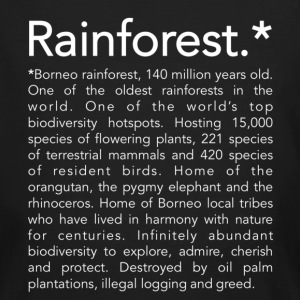 Rainforest - T-shirt bio Homme