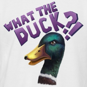 What The Duck?! T-shirts - Kortærmet herre-baseballshirt