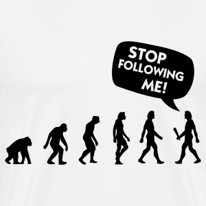 The Evolution of a stalker T-Shirts - Men's Premium T-Shirt