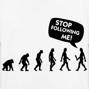 The Evolution of a stalker T-Shirts - Men's Breathable T-Shirt