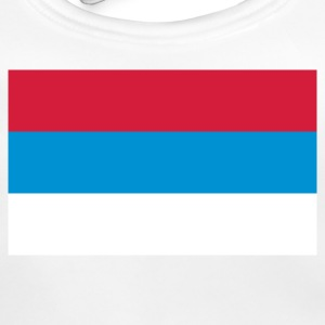 National Flag of Serbia Accessories - Baby Organic Bib