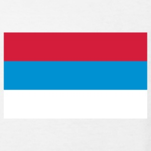 National Flag Serbien T-shirts - Organic børne shirt