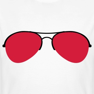 The Aviator Goggles T-shirts - Organic mænd