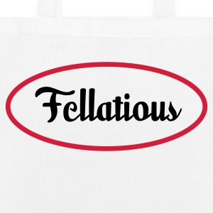 Fellatious - I blow Bags & Backpacks - EarthPositive Tote Bag