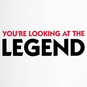 The legend is in front of you! Mugs & Drinkware - Travel Mug