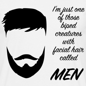 men beard T-Shirts - Männer T-Shirt