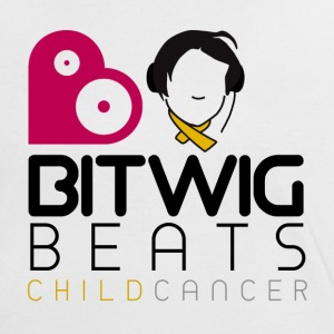 Bitwig Beats Child Cancer - Womens Tee - Women's Ringer T-Shirt