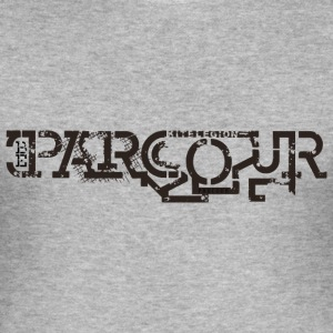 be parcour nl T-shirts - slim fit T-shirt