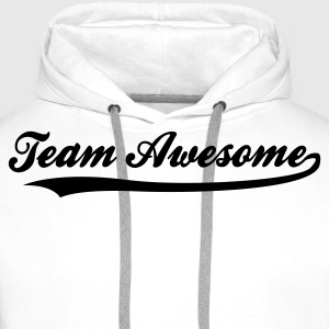 Team awesome! Sweaters - Mannen Premium hoodie